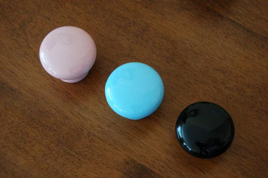 porcelain cabinet knobs